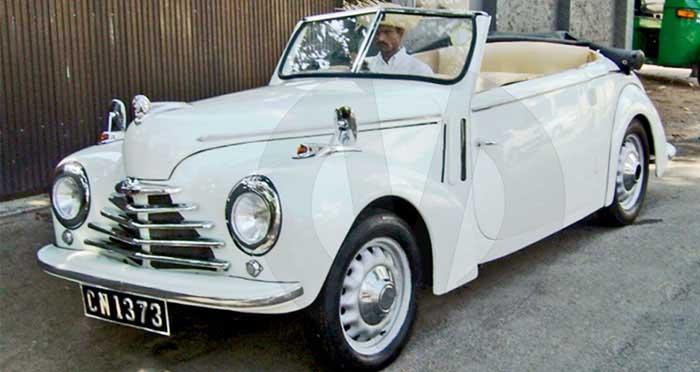 Skoda Roadster (1949) Open Top (White)