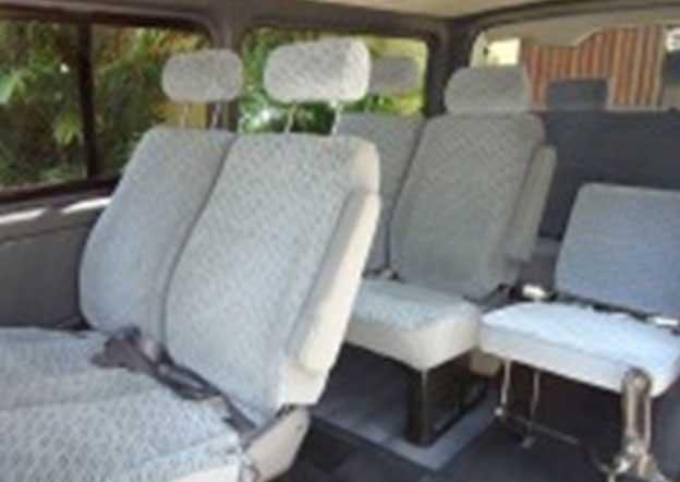 inside-Toyota KDH 200 Dual Purpose (Passenger/ Cargo) 9 Seater Dual A/C