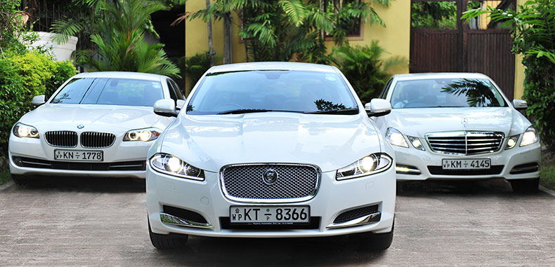 Luxury vehicles for hire in Sri Lanka