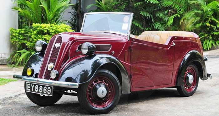 Ford 10 Anglia Tourer