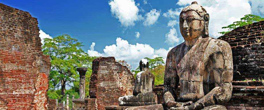 Temples in Anuradhapura Sri Lanka
