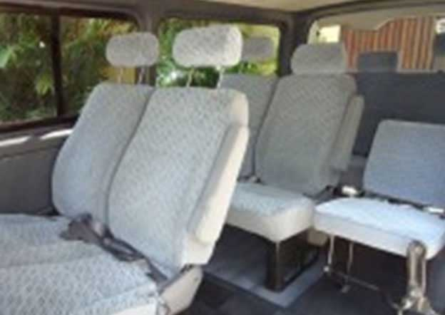 inside-Toyota KDH 200 Dual Purpose (Passenger/ Cargo) 9 Seater Dual A/C