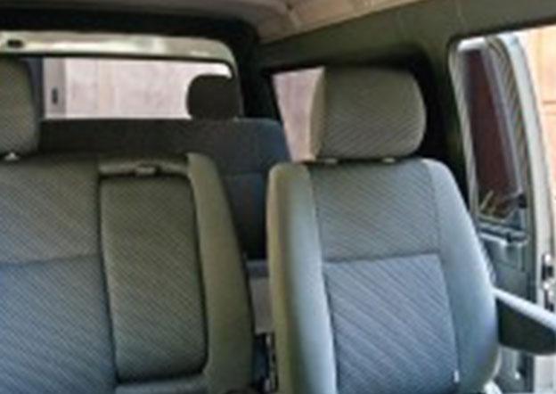 inside-Mitsubishi L300 6 Passenger Dual A/C