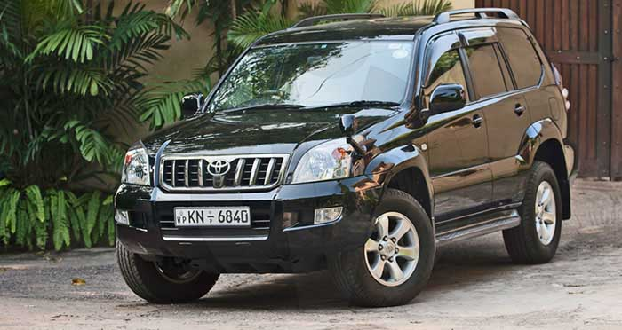 Toyota Land Cruiser Prado (TRJ 120 Series)