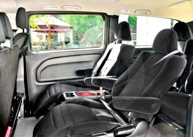 inside-Mercedes Vito Luxury 5 + 2 Passenger