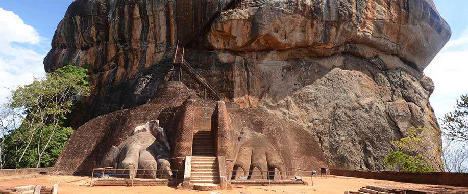 Sigiriya Rock Fortress Lion's Paw Terrace