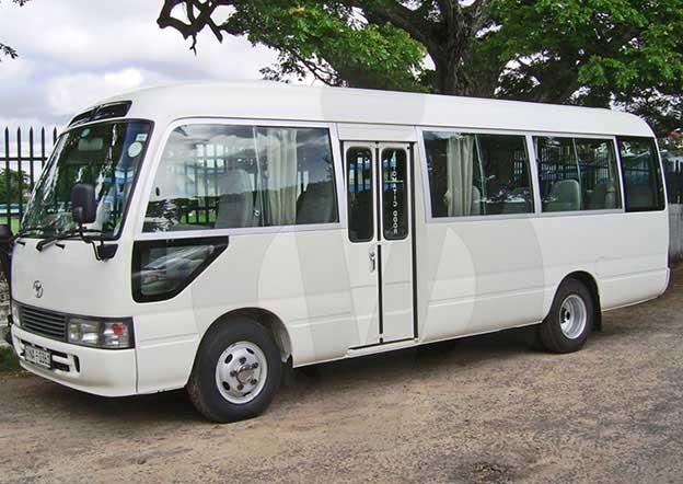 Toyota Coaster Luxury 29 Seater