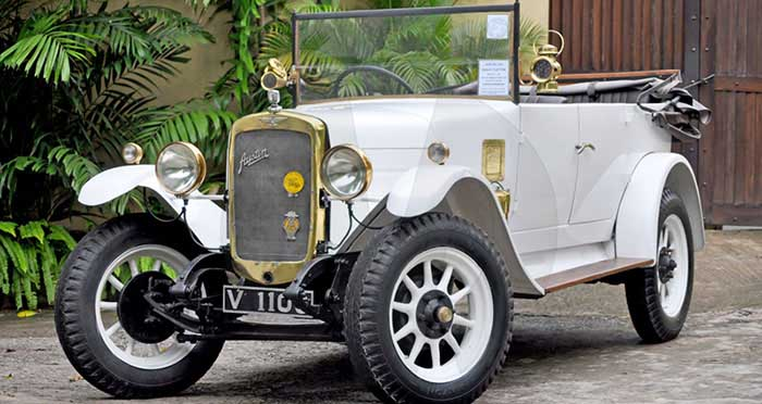 Austin Clifton Tourer 12/4 (1929) Open Top (White)