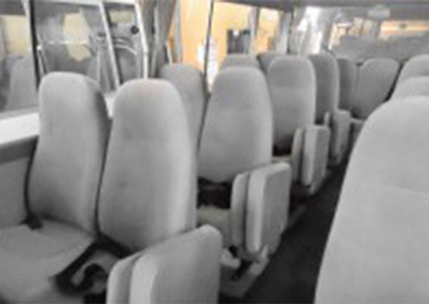 inside-Toyota Coaster Luxury 29 Seater