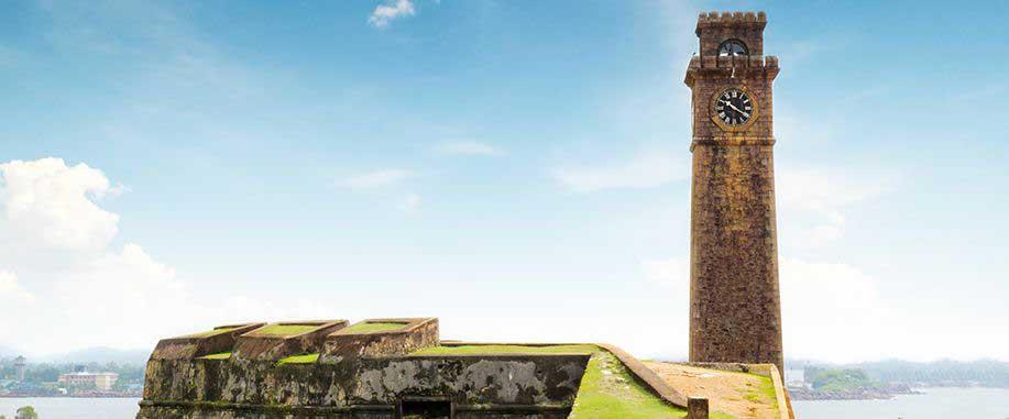 Galle fortress in Sri Lanka