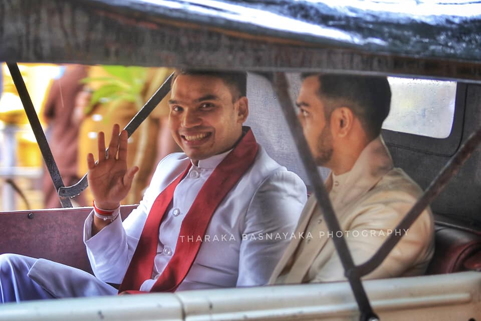 Namal Rajapaksa weds Limini Weerasinghe Park Street