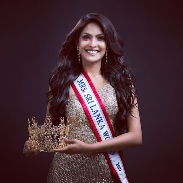 Caroline Jurie Mrs. Sri Lanka Mrs World 2020