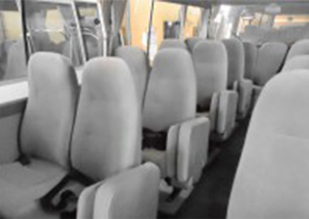 inside-Toyota Coaster Luxury 29 Seater
