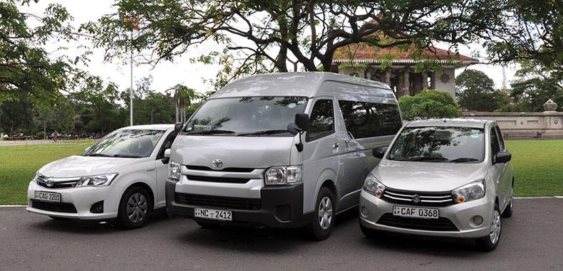 Sri Lanka Car Hire Vehicles Fleet Malkey Colombo Car Hire
