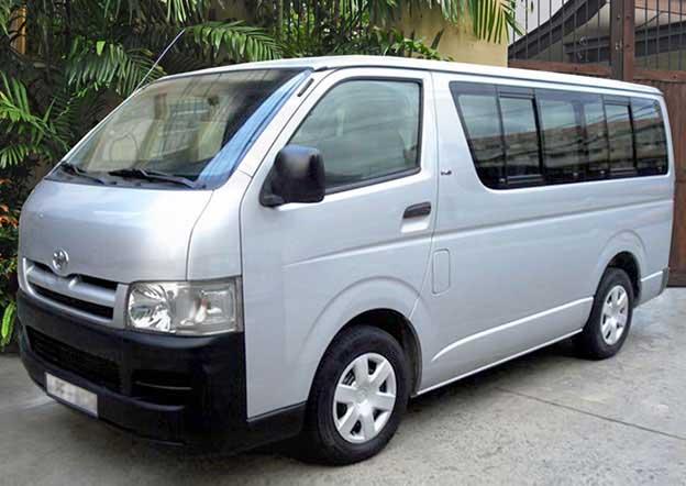 Toyota KDH 200 Dual Purpose (Passenger/ Cargo) 9 Seater Dual A/C