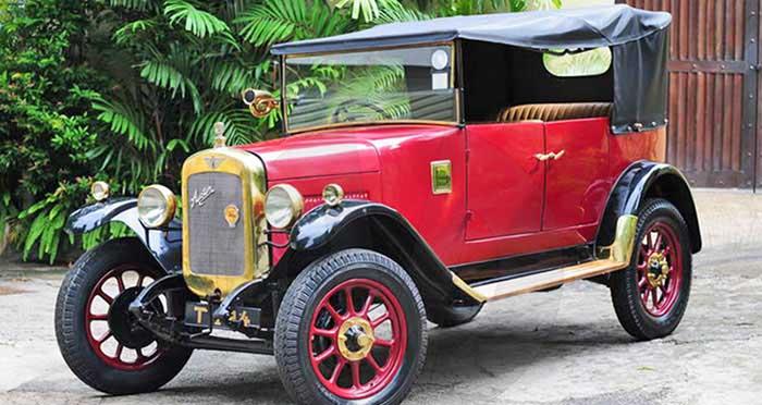 Austin Clifton Tourer 12/4 (1929) Open Top (Red)