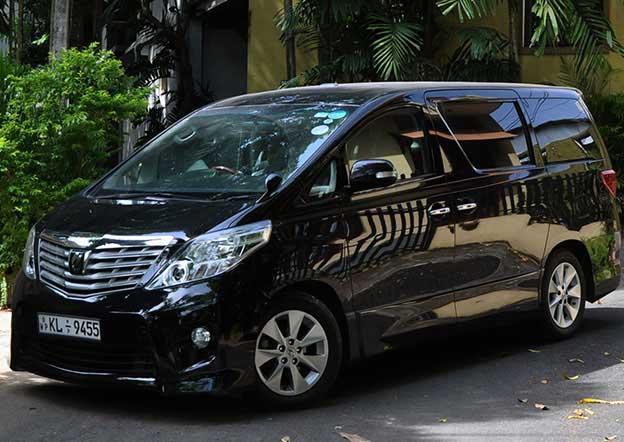 Toyota Alphard 6 Passenger